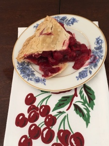 Tart Cherry Pie Slice