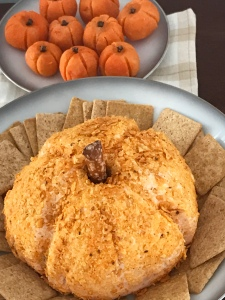 Pumpkin-Shaped Cheese Ball