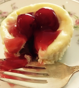 Mini Cherry Cheesecake